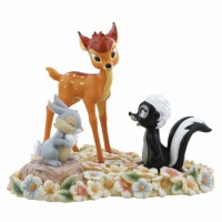 bambi-figurine-pampan-flower-disney-enchanting